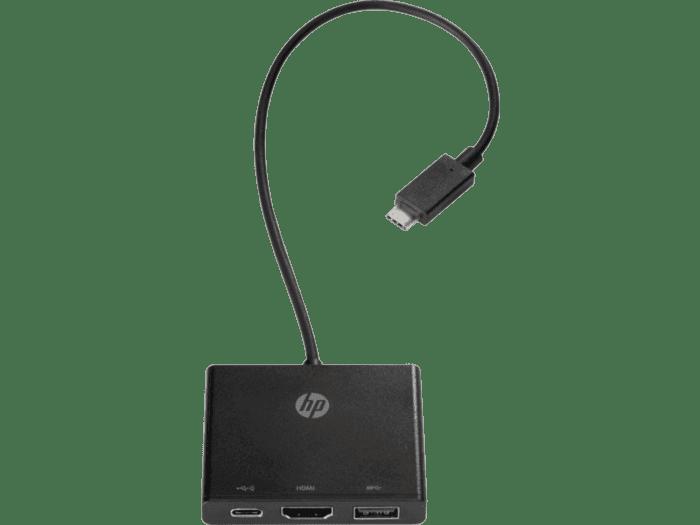 Concentrador USB-C a Multipuerto HP