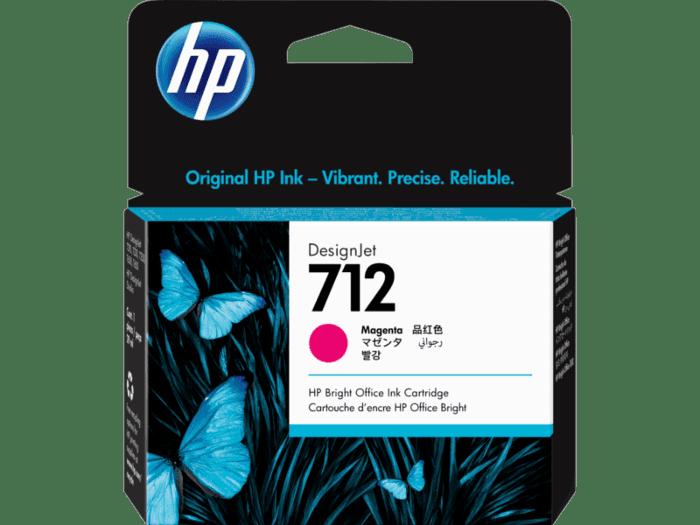 Cartucho de Tinta HP DesignJet 712 Magenta de 29 ml