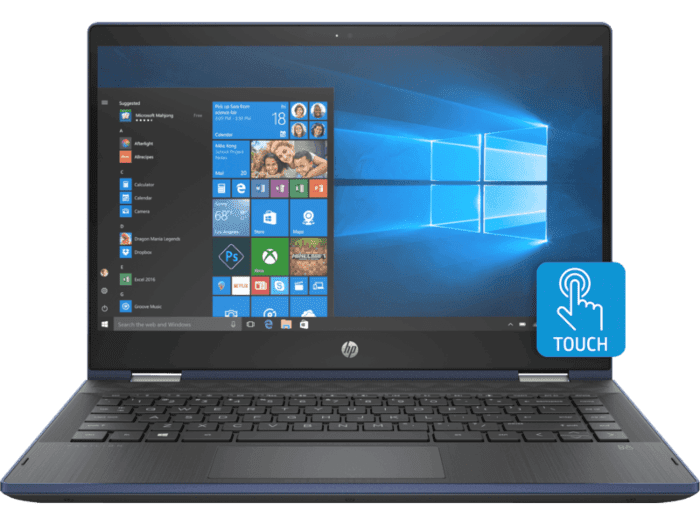 Laptop HP Pavilion x360 Convertible 14-cd0012la