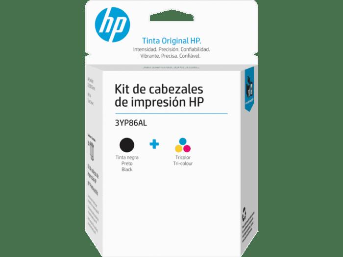Kit de Cabezales de Impresión HP GT 3YP86AL Negro/Tricolor