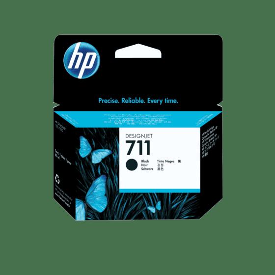 Cartucho de Tinta HP DesignJet 711 Negro de 80 ml