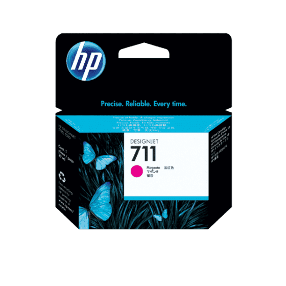 Cartucho de Tinta HP DesignJet 711 Magenta de 29 ml