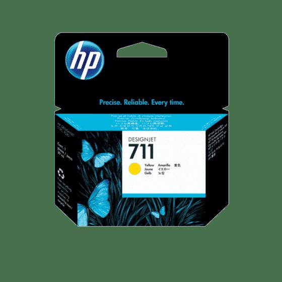 Cartucho de Tinta HP DesignJet 711 Amarillo de 29 ml