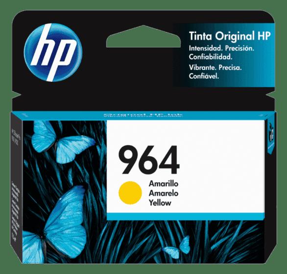 Cartucho de Tinta HP 964 Amarillo Original