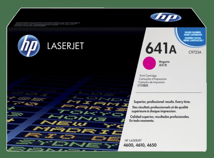 Cartucho de Tóner HP 641A Magenta LaserJet Original