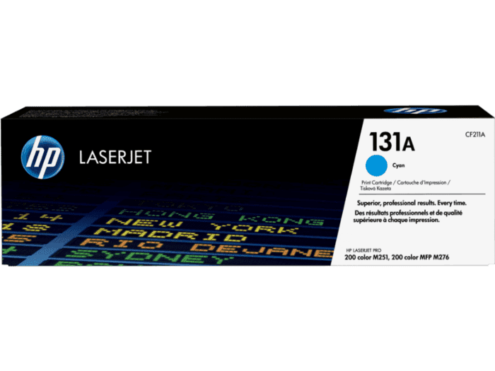 Cartucho de Tóner HP 131A Cian LaserJet Original