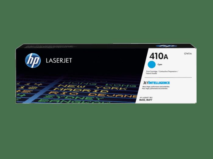 Cartucho de Tóner HP 410A Cian LaserJet Original