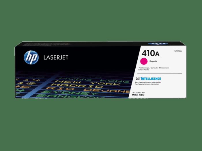 Cartucho de tóner original LaserJet HP 410A magenta