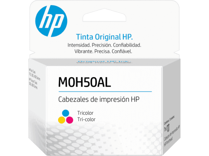 Cabezal de Impresión HP GT M0H50A de Sustitución Tricolor
