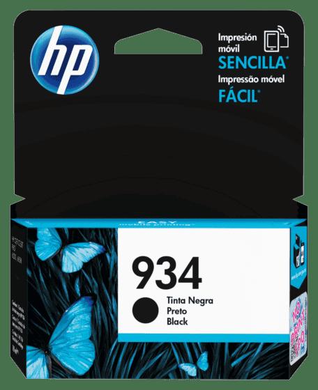 Cartucho de Tinta HP 934 Negro Original