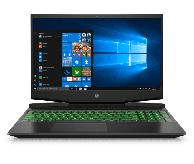 Laptop HP Pavilion Gaming 15-dk0001la