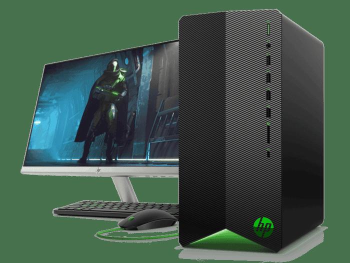 Desktop HP Pavilion Gaming TG01-102bla + Monitor HP 24x de 23.8
