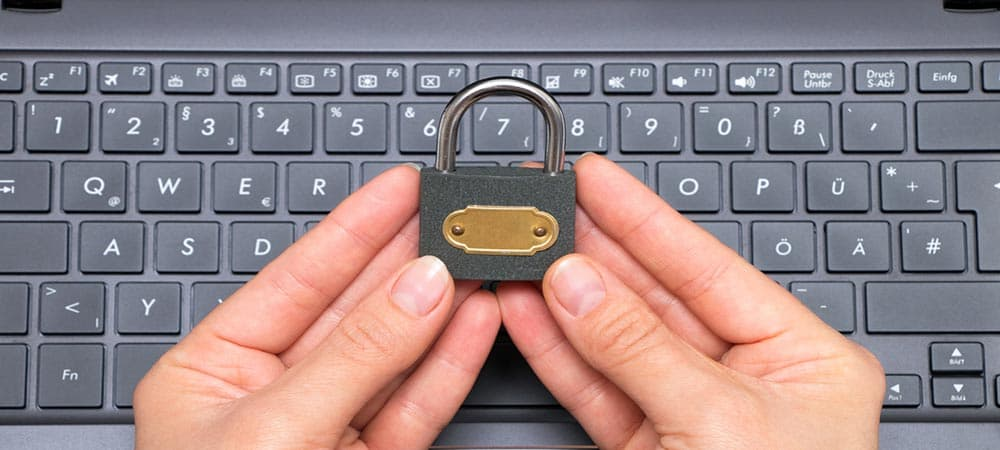 Cómo desbloquear un teclado de laptop