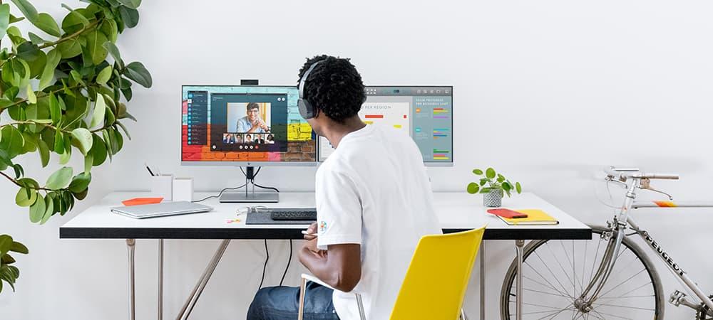 Cómo conectar monitores en serie
