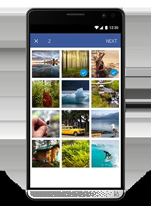 Accesa a tus fotos