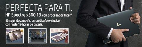 Laptops HP Spectre x360 13 con procesador Intel | El mejor desempeño en un diseño exclusivo, con hasta 19 horas de batería