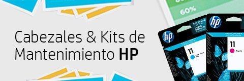 Cabezales y Kits de Mantenimiento HP